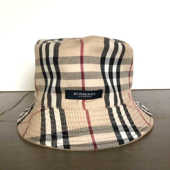 Burberry Other - Kids Burberry Reversible Bucket Hat 60d0c5a9fb8